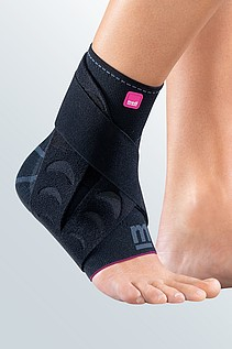 bandage for relief of the ankle with belt