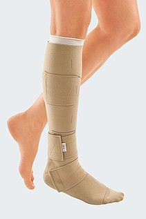compression stocking wound ankle
