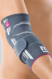 Epicomed® elbow supports with silicone support pads and tension strap