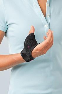 Rhizomed soft splints for immobilisation of the thumb